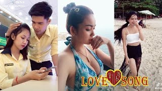 """... hello every body how are you to day? welcome in my channel """"kombleng thmey. this is new video show about """"love song khmer..."""