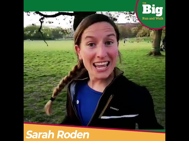 Sarah Roden Supports CLF Big Run and Walk
