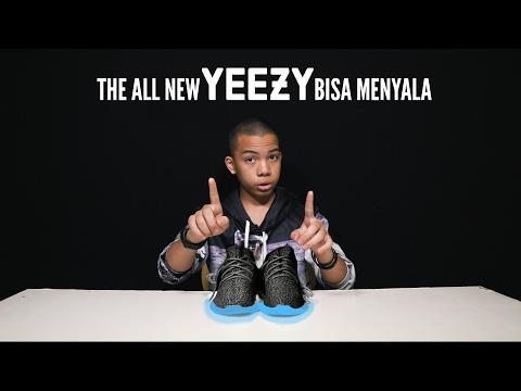 UNBOX Yeezy Model Terbaru Bisa Nyala | 4k