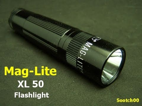 maglite xl50 led flashlight youtube. Black Bedroom Furniture Sets. Home Design Ideas