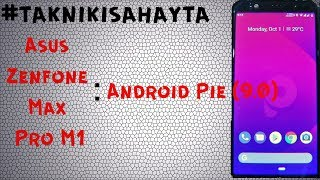 Android 9.0 Asus zenfone Max Pro M1 Test & Gameplay PUBG On HD Mode