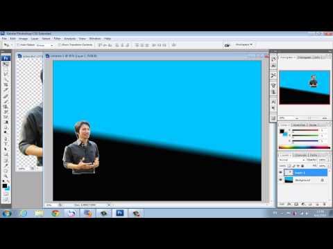 การทำภาพพื้นหลัง wordpress โดย photoshop CS3