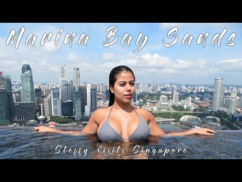 Marina Bay Sands- Singapore | What a stunning Hotel 👌