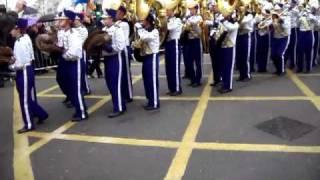 James Madison University Marching Royal Dukes London New Years Parade 2011