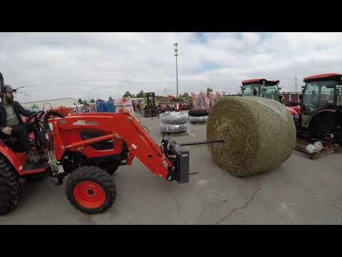 Kioti Tractors Vs Hay Bales