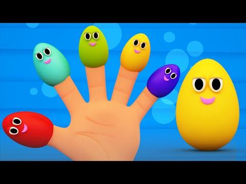 Finger Family suprise eggs Nursery Rhymes For Kids  Kids Tv