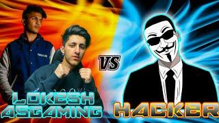 Lokesh Gamer \u0026 A_s Gaming Vs World Best Hacker *Flying,WallHack,Headshot,TeleportHacker* - Free Fire