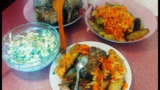 Как приготовить в духовке свиные ребрышки с картофелем