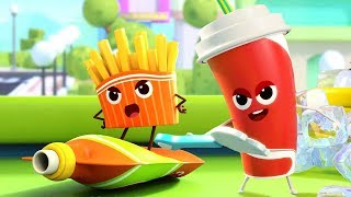 Hamburger and Cola Song | Colors Song, Ice Cream | Nursery Rhymes |Kids Songs |Kids Cartoon |BabyBus