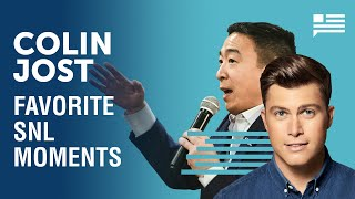 Andrew Yang talks about SNL's Colin Jost's very punchable face | Yang Speaks
