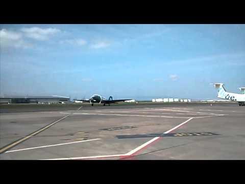 DC3 Belfast city Airport