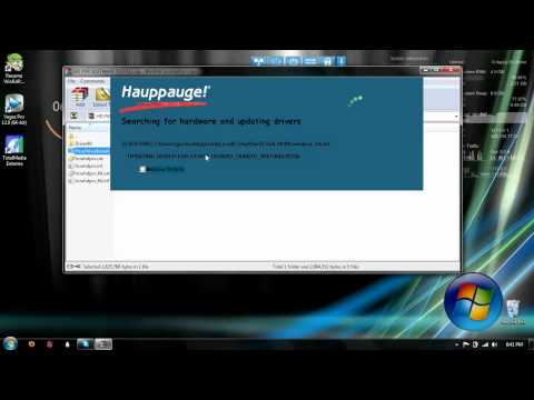 How To Get The Hauppauge HD PVR Drivers For Installation Software To Record (Links)