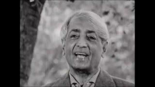 J Krishnamurti - The Real Revolution - 4. Meditation