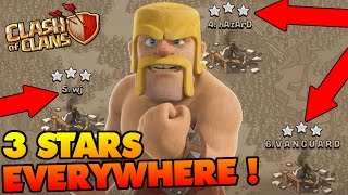 Clash Of Clans | 3 STAR WAR BIBLE!! | TH8 TH9 & TH10 3 STAR ATTACK STRATEGIES FOR WAR!