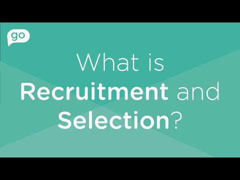 What is Recruitment and Selection?