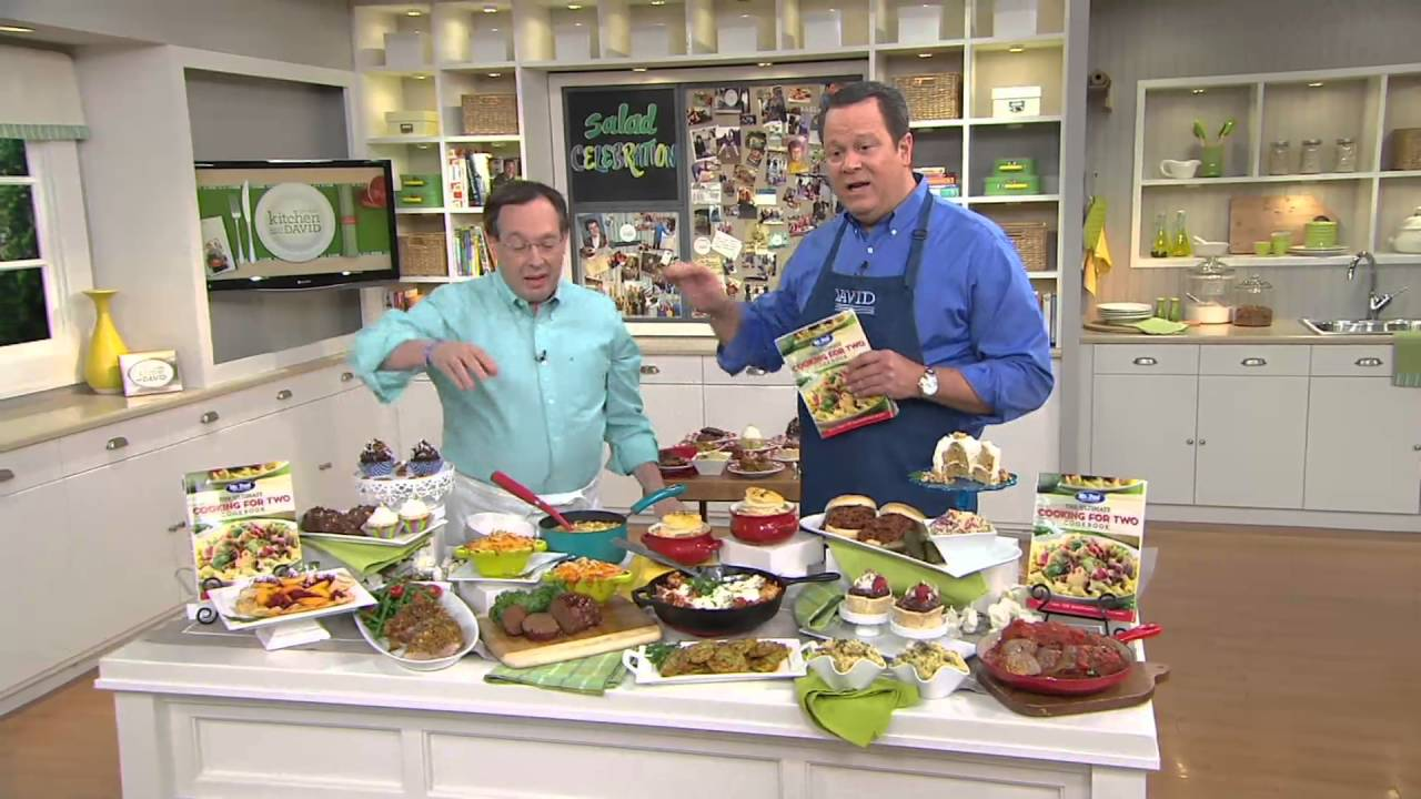 Mr Food Test Kitchen The Ultimate Cooking For Two Cookbook On Qvc You