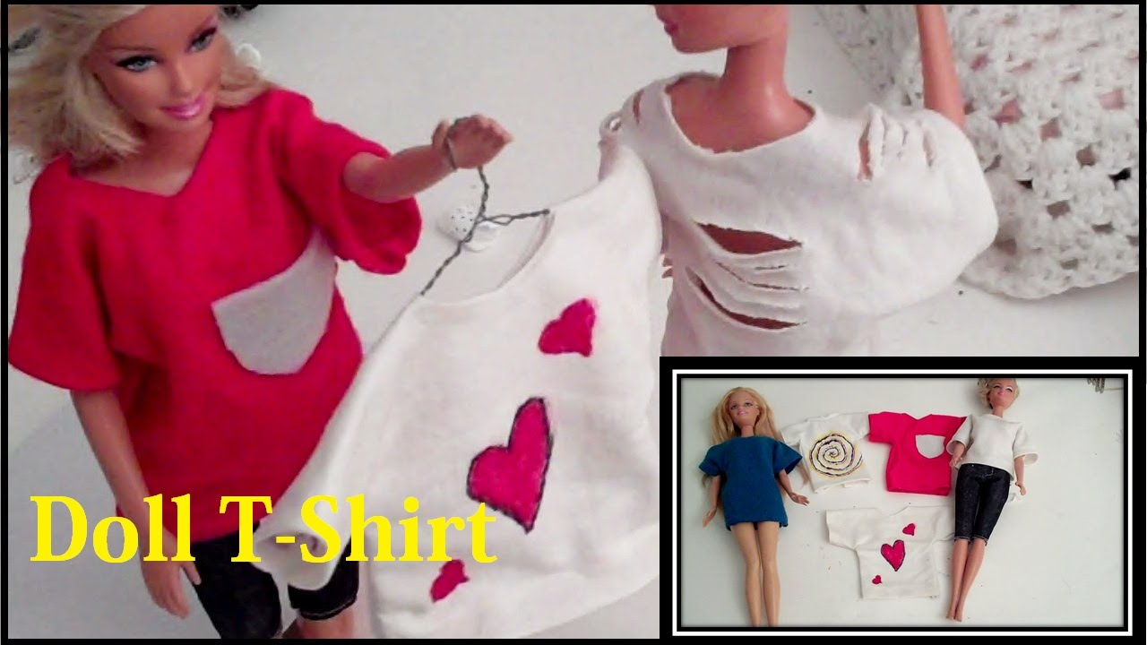 f9bc199a8482 (DOLL CLOTHES) How to Make