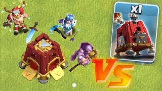 "ALL HEREOS vs. SIEGE BARRACKS!! ""Clash Of Clans"" NEW XMAS UPDATE!!"