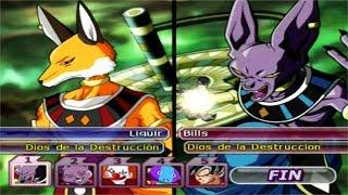Dragon Ball Z Budokai Tenkaichi 3 - Liquir VS Bills,Champa,Vermouth ,Zeno Sama and Goku (PS2) MOD