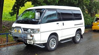 1997 Mitsubishi Delica Star Wagon Turbo Diesel (Canada Import) Japan Auction Purchase Review