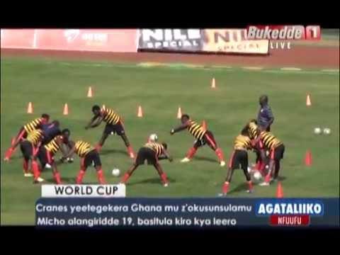 SPORTS: Cranes yeetegekera Ghana mu z'okusunsulamu