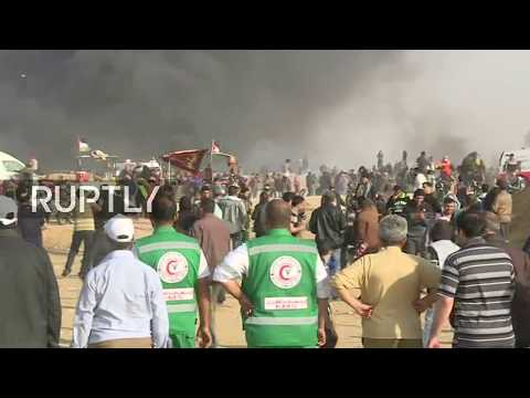 "Live: Palestinians resume ""Great March of Return"" demonstrations"