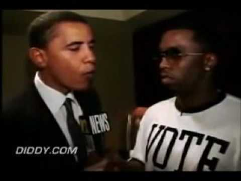 Barack Obama and Diddy interview (2004)