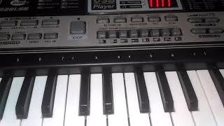 Как играть на синтезаторе песню ЛАМБАДА.