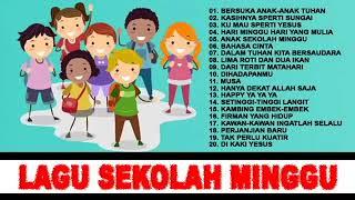 Gambar cover 20 Lagu Anak Sekolah Minggu Terbaru 2019 Sunday School Pujian Penyembahan Rohani Kristen