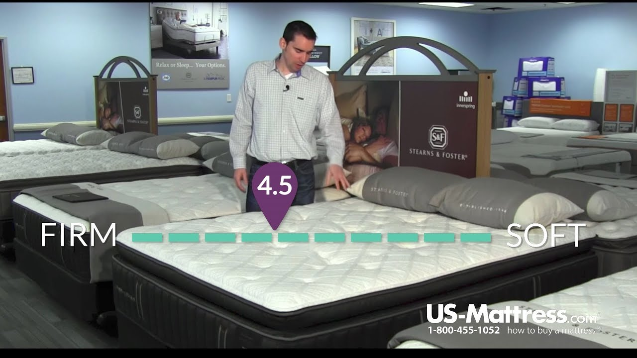 stearns and foster lux estate fiona rose luxury cushion firm euro pillow top mattress expert review