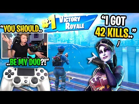 This UNDERRATED controller player is my Fortnite WORLD CUP 2020 duo partner... (must see)