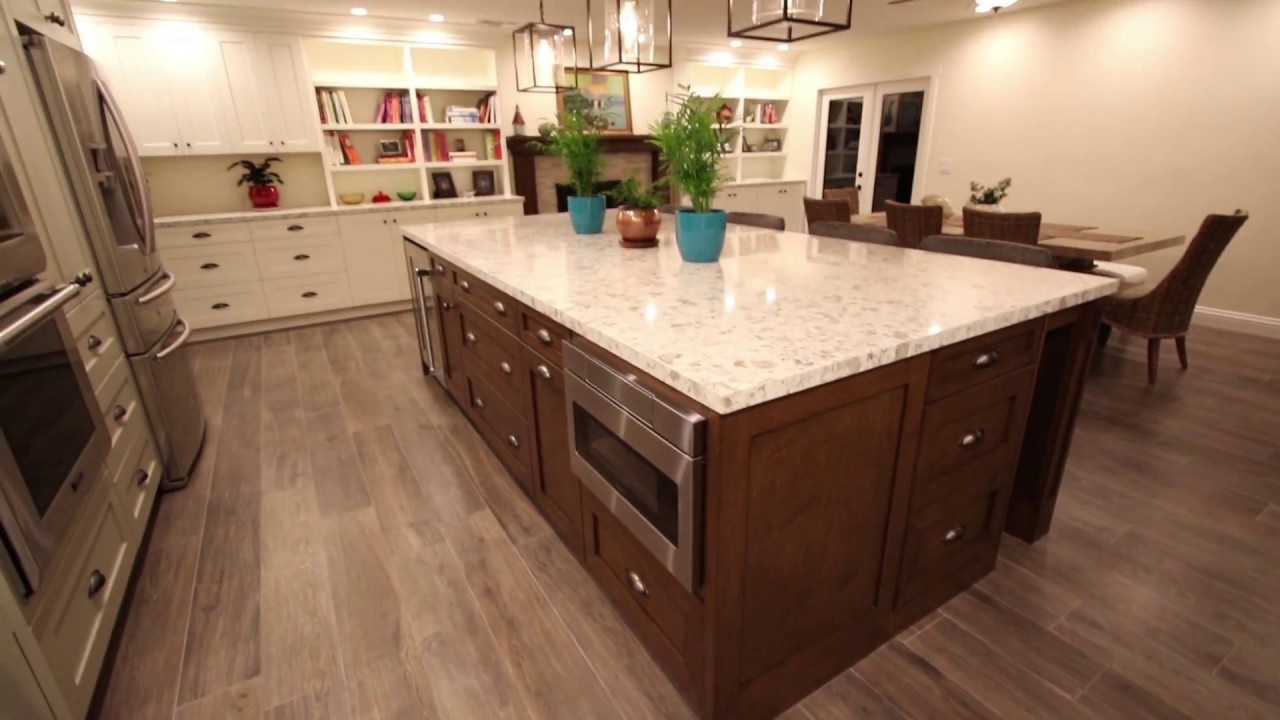 Custom Kitchen Remodel In Huntington Beach Orange County By Aplus Interior Design Remodeling Youtube