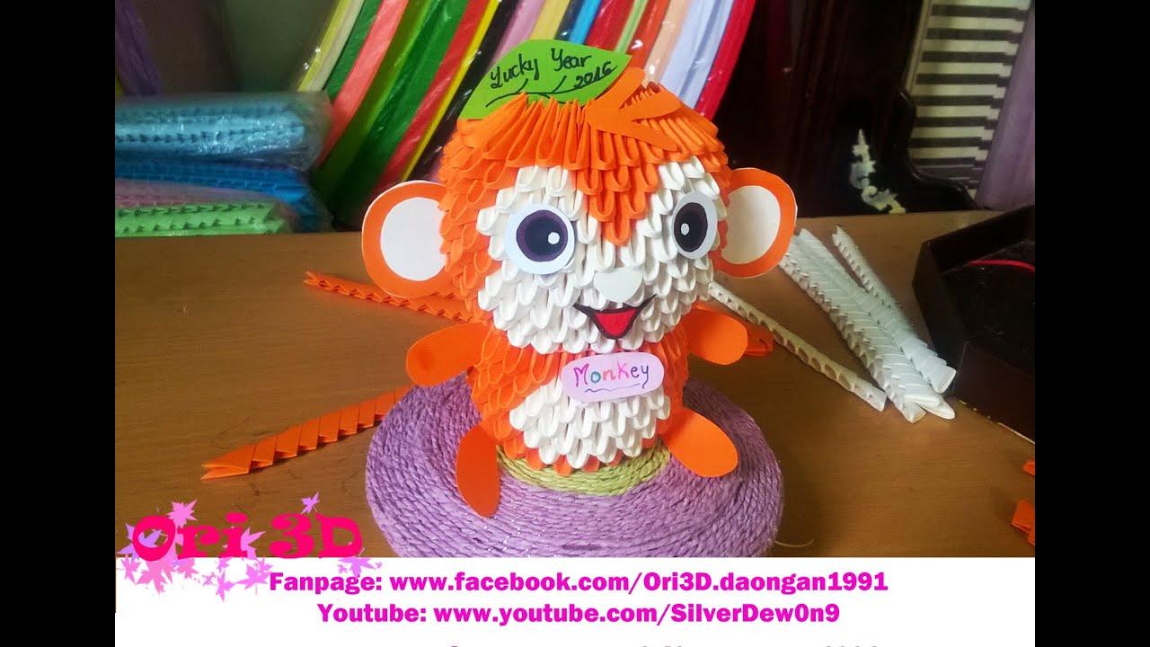Tutorial Monkey 3D Origami
