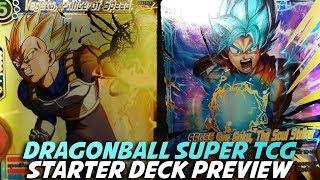 Dragon Ball Super Card Game [DBS TCG] Starter Deck Preview w/ ShadyPenguinn! Mp3