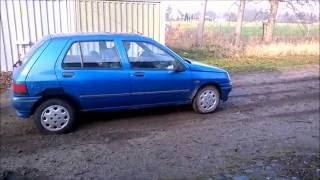 Renault Clio 1.2- Revs, Bang, Slides, Wheelspin & Broken Exhaust!