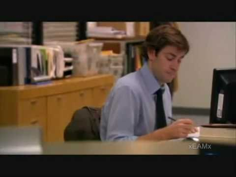 The Office Funny Jim Moments Youtube