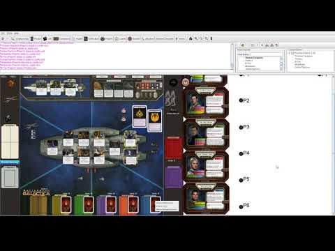 Board Game Group Night 1 - Battlestar Galactica Part 1
