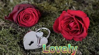 """Lovely"" name Whatsapp status...