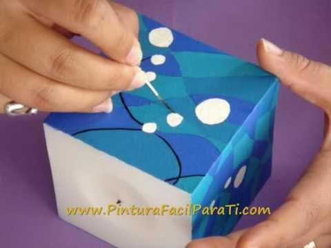 Paint a candle tutorial como pintar velas 2 pintura for Pinturas para pintar