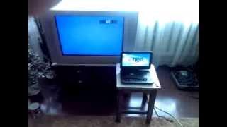 Портативный DVD плеер ERGO 1031 TV (часть 4)(Портативный DVD плеер ERGO 1031 TV- просмотр видео на большом экране телевизора., 2013-06-16T13:31:01.000Z)