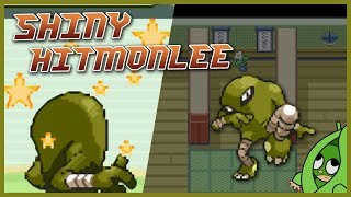 Live Shiny Hitmonlee 🐾 Pokémon Fire Red / Leaf Green [1944 SR]