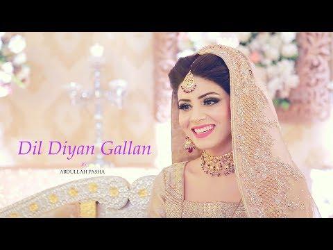 Dil Diyan Gallan Song | Abdullah Pasha | Tiger Zinda Hai | Usman | Farghana | Atif Aslam