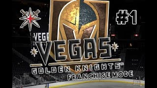 "NHL 18 - VEGAS GOLDEN KNIGHTS FRANCHISE MODE #1 ""Expansion Draft"""