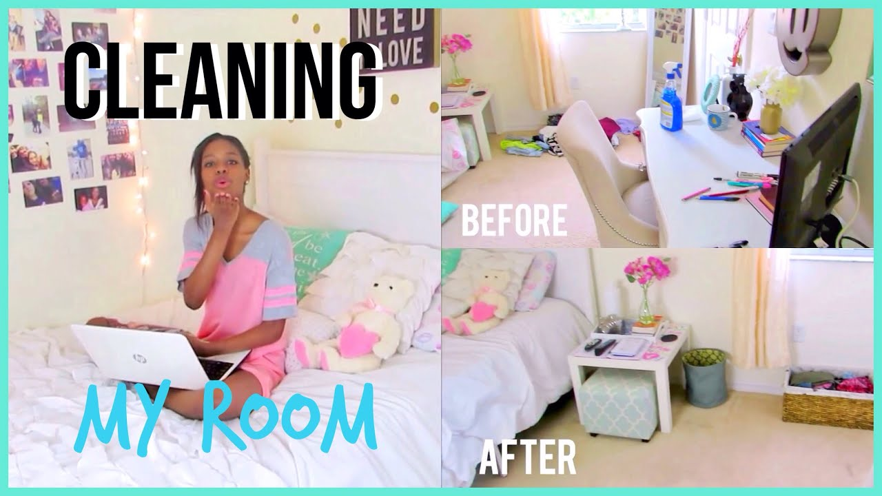 how to clean organize your room fast youtube