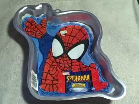 Spiderman Cake Decorating Instructions