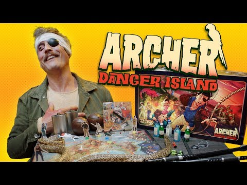 Archer: Danger Island – The Game!