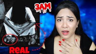 *IMPOSSIBLE* TRY not to get SCARED Challenge at 3AM   Do NOT Watch it ALONE   Nil & Situ Vlogs