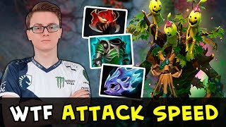 Miracle TI7 Treant Protector Immortal — wtf this Attack Speed?
