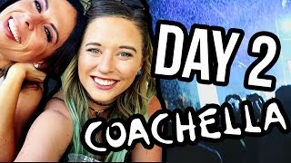 OUR FIRST COACHELLA DAY 2 (Lunchy Break)