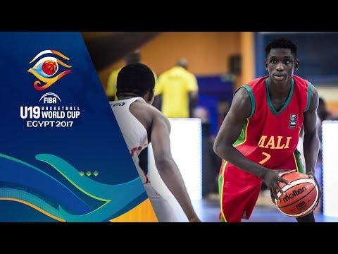 Angola v Mali - Full Game - CL 13-16 - FIBA U19 Basketball World Cup 2017